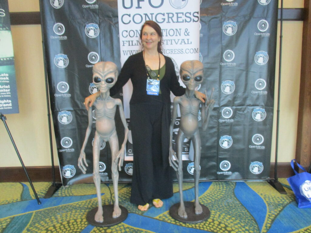 Susan J. Palmer was a Speaker at the 2018 UFO Congress